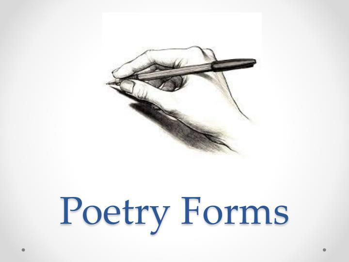poetry forms n.