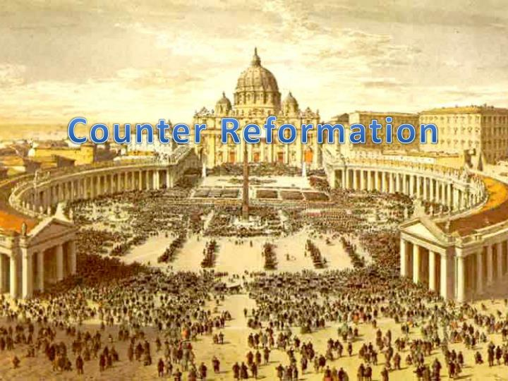counter reformation n.