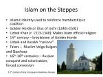 islam on the steppes1