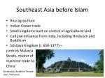 southeast asia before islam