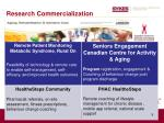 research commercialization