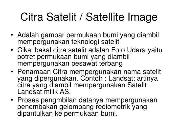 Citra Satelit / Satellite Image