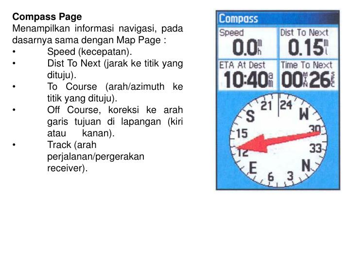 Compass Page