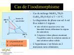 cas de l isodimorphisme