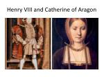 henry viii and catherine of aragon