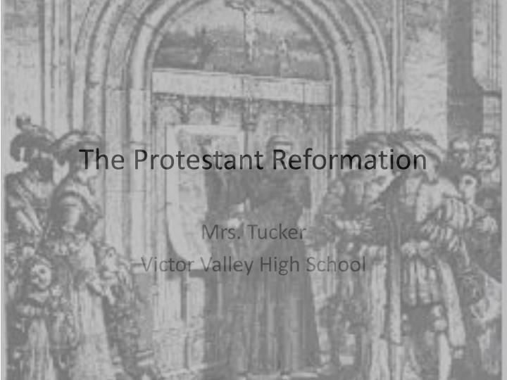 european reformation essay Ronald mcfadden september 3,2012 world history i [30140] women in reformation europe by ronald mcfadden abstract in this short essay we are going to go over how women's lives started changing from the beginning until 1600.