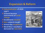expansion reform
