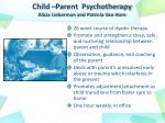 child parent psychotherapy alicia lieberman and patricia van horn