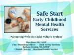 safe start early childhood mental health services
