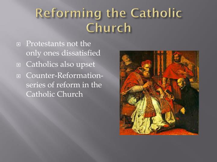 Reforming the catholic church