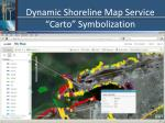 dynamic shoreline map service carto symbolization