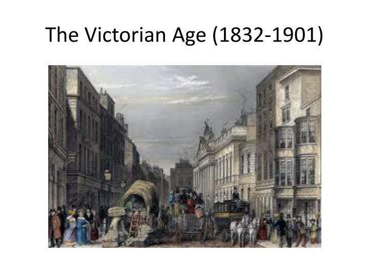 the victorian age 1832 1901 n.