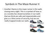 symbols in the maze runner ii