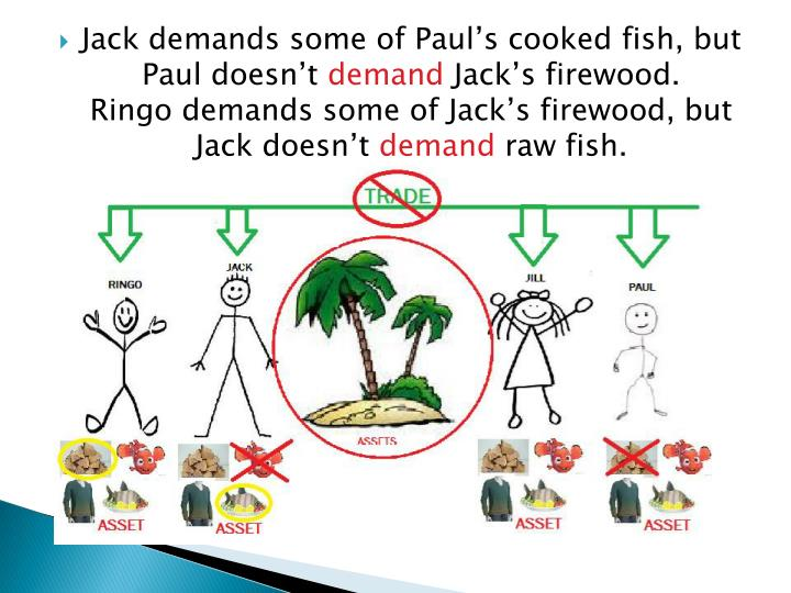 Jack demands some of Paul's cooked fish, but Paul doesn't