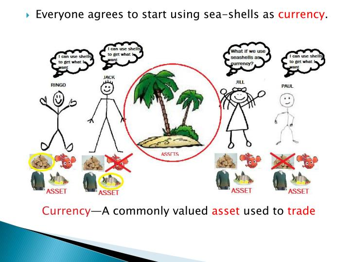 Everyone agrees to start using sea-shells as