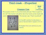 third grade properties1