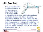 jib problem