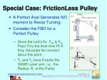 special case frictionless pulley1
