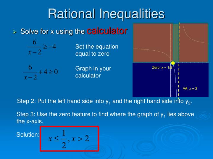 PPT - 7.4 Solving Rational Equations & Inequalities PowerPoint ...