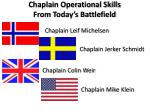 chaplain operational skills from today s battlefield