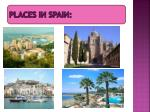 places in spain