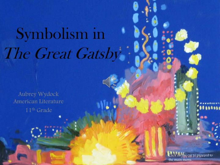 symbols in the great gatsby