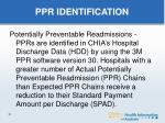 ppr identification