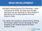 spad development