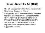 kansas nebraska act 18541