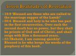 seven beatitudes of revelation1