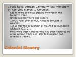 colonial slavery1