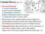 colonial slavery pg 25