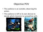objective pov