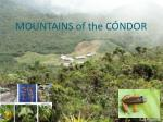 mountains of the c ndor