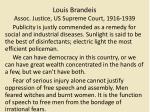 louis brandeis assoc justice us supreme court 1916 1939