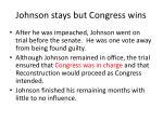 johnson stays but congress wins