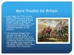 more trouble for britain