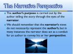 the narrative perspective1