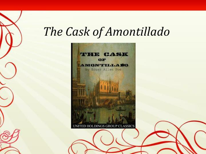 the cask of amontillado n.