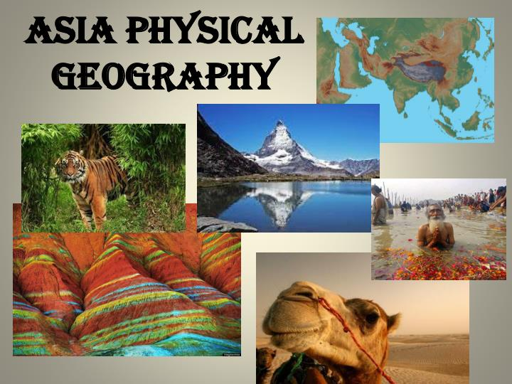 Asia physical geography