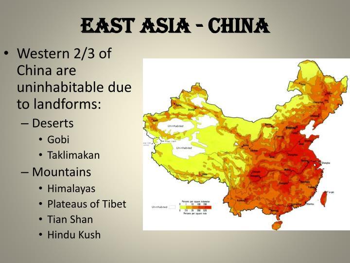East Asia - china