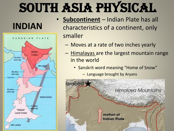 SOUTH ASIA PHYSICAL