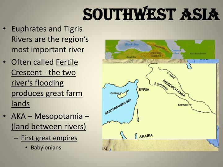 Southwest asia1