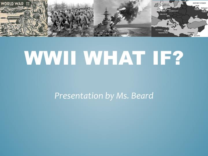 wwii what if n.