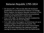 batavian republic 1795 1814