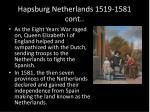 hapsburg netherlands 1519 1581 cont