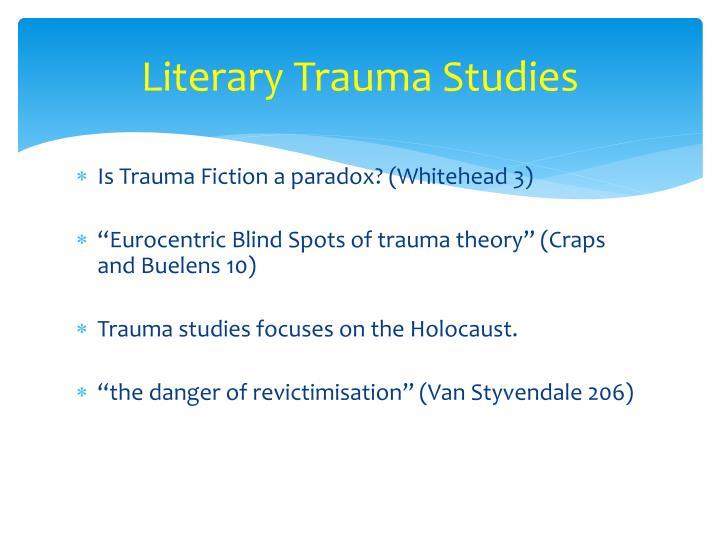Literary trauma studies