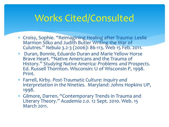 trauma narratives in post war and postcolonial fiction Trauma and identity: a postcolonial study qasim shafiq phd (scholar), national university of modern languages, islamabad  has often been referred to as postcolonial fiction it debates.