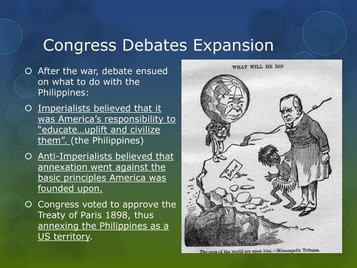 Congress Debates Expansion