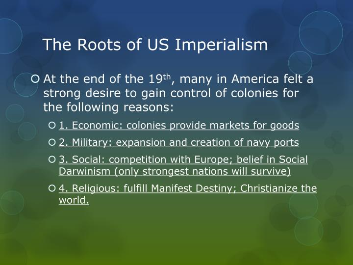The Roots of US Imperialism